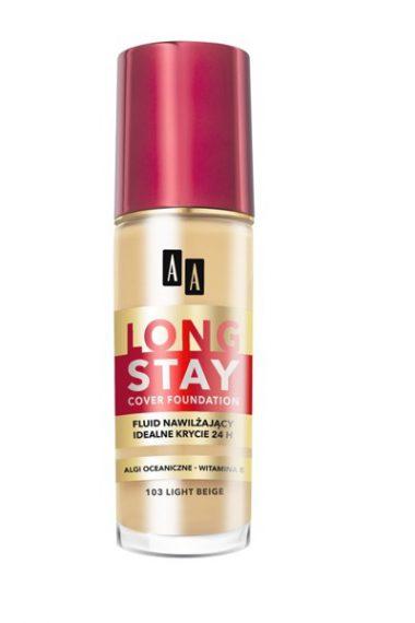 AA LONG STAY COVER – Podkład nawilżający light beige
