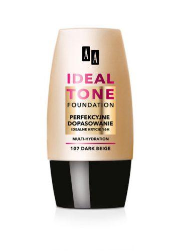 AA IDEAL TONE  perfekcyjne dopasowanie 107 dark beige 30ml