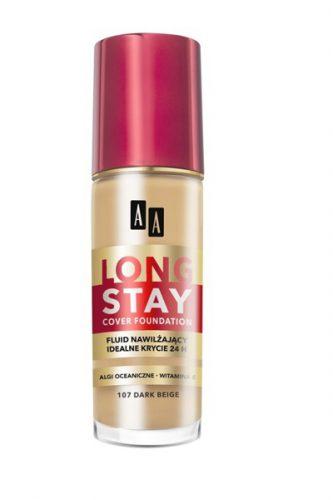 AA LONG STAY COVER – Podkład nawilżający dark beige