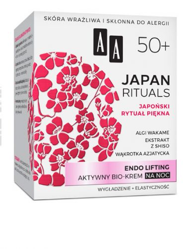 AA JAPAN RITUALS Endo lifting Aktywny bio-krem na noc 50+, 50 ml