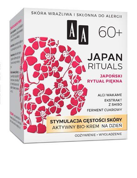AA JAPAN RITUALS Stymulacja gęstości skóry Aktywny bio-krem na dzień 60+, 50 ml