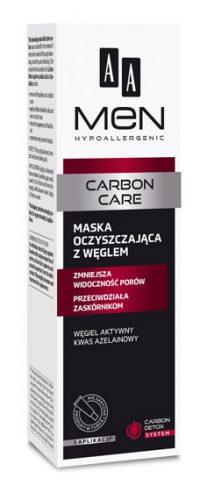 AA MEN CARBON CARE Maska oczyszczająca z węglem 30 ml