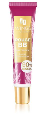 AA WINGS OF COLOR ROUGE BB RÓŻ DO UST I POLICZKÓW ALOE VERA 10ML