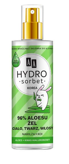 AA Hydro Sorbet 96% aloesu – żel w atomizerze 200 ml