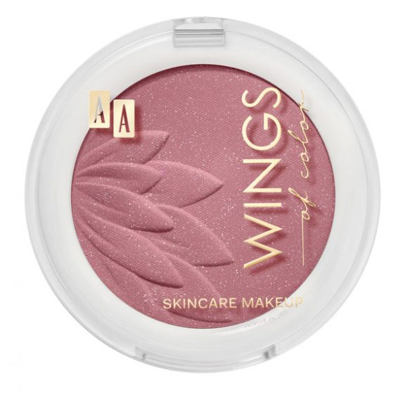 AA WINGS OF COLOR BLUSH&ROUGE RÓŻ DO POLICZKÓW 05 FLAMINGO 4,5g