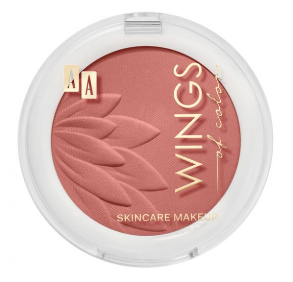 AA WINGS OF COLOR  BLUSH&ROUGE RÓŻ DO POLICZKÓW 06 ZEN 4,5 g