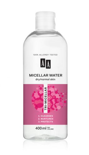 Micellar water, DRY/ NORMAL