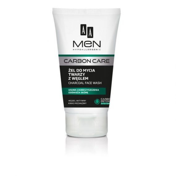 AA MEN CARBON CARE Charcoal face wash