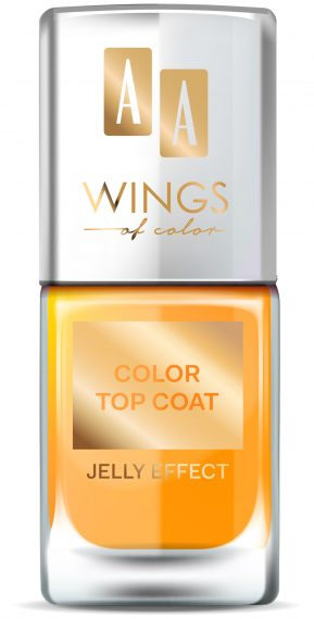 AA WINGS OF COLOR NAIL COLOR TOP COAT 02  11ML