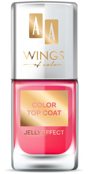 AA WINGS OF COLOR NAIL COLOR TOP COAT 04 11ML