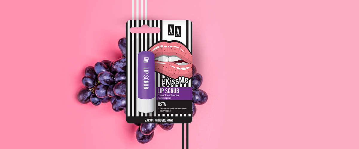 Pomadka AA #KissMe Lip Scrub podbiła serca recenzentek Rosssmanna