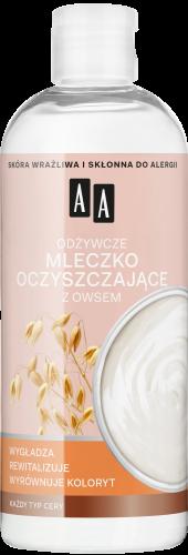 AA Skin Food Odżywcze mleczko oczyszczające z owsem
