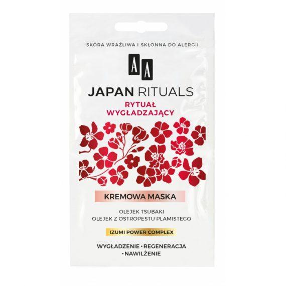 AA JAPAN RITUALS KREMOWA MASKA WYGŁADZAJĄCO-REGENERUJĄCA 2X4 ML