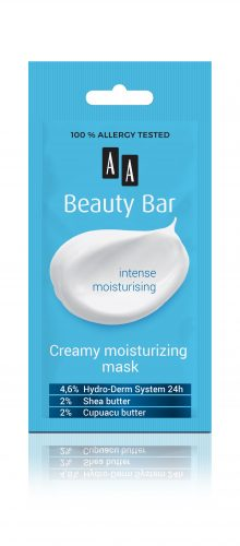 AA Beauty Bar  creamy moisturizing mask, 8 ml