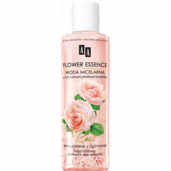 AA FLOWER ESSENCE Woda micelarna ROSE, 200 ml