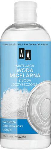 AA SKIN FOOD Matująca woda micelarna z sodą oczyszczoną, 400ml