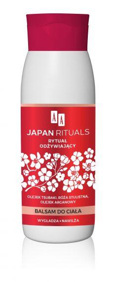 AA JAPAN RITUALS balsam do ciała – rytuał odżywiający 400 ml