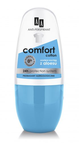 AA Anti-perspirant Comfort Cotton, 50 ml