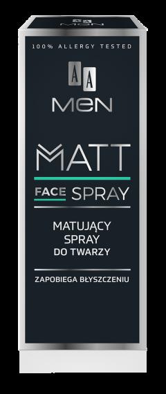 AA MEN Spray matujący do twarzy, 50 ml