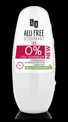 AA ALU FREE DEODORANT Silk  aluminium salt-free, 50 ml