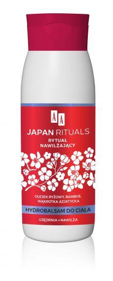 AA JAPAN RITUALS  hydrobalsam do ciała – rytuał nawilżający 400 ml
