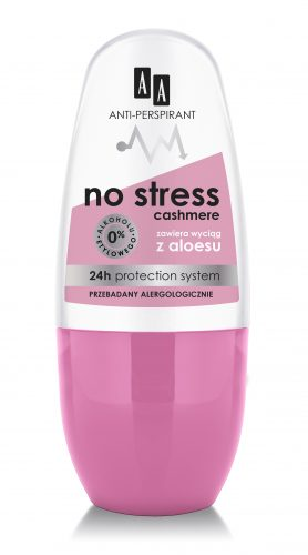 AA Anti-perspirant No Stress Cashmere, 50 ml