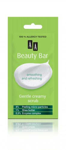 AA Beauty Bar  gentle creamy scrub, 8 ml