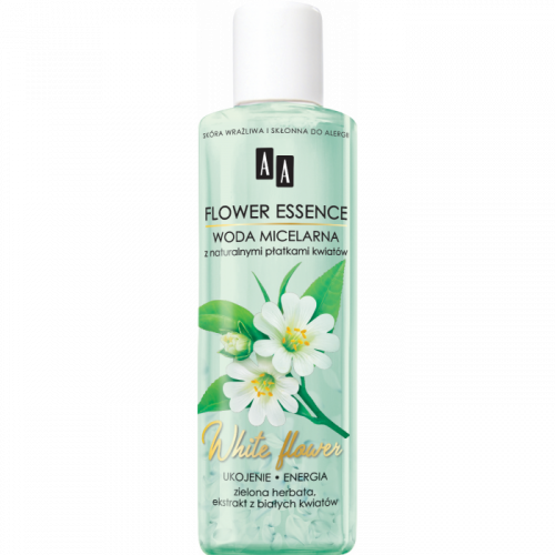 AA FLOWER ESSENCE Woda micelarna WHITE FLOWERS, 200 ml