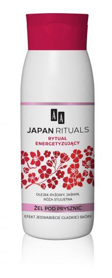AA JAPAN RITUALS Żel pod prysznic – rytuał energetyzujący 400 ml