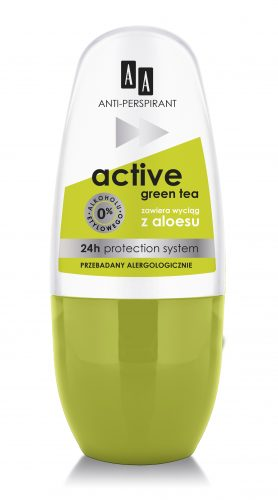 AA Anti-perspirant Active Green Tea, 50 ml