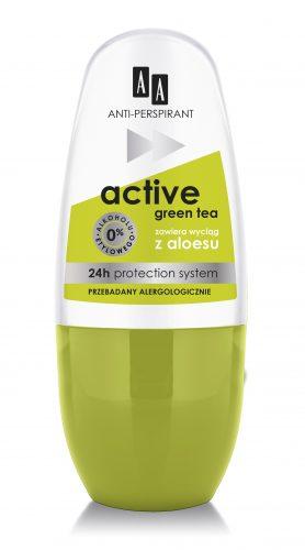AA Anti-perspirant Active Green Tea, 50 ml