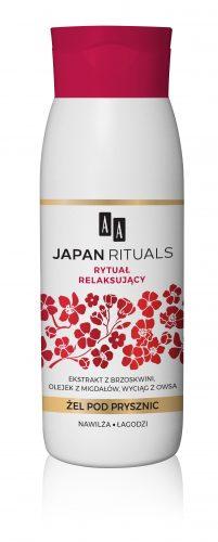 AA JAPAN RITUALS Żel pod prysznic – rytuał relaksujący 400 ml