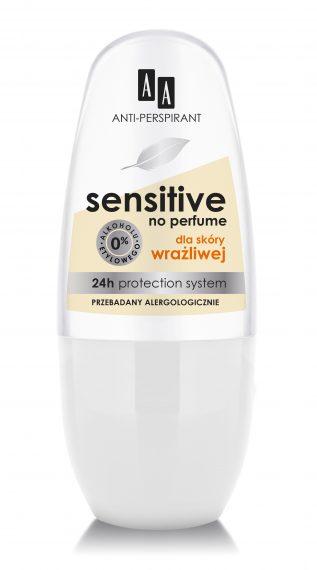 AA Anti-perspirant Sensitive No Perfume, 50 ml