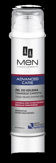 AA MEN ADVANCED CARE Tough beard shaving gel