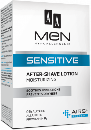 AA Men Sensitive After-shave lotion Moisturising