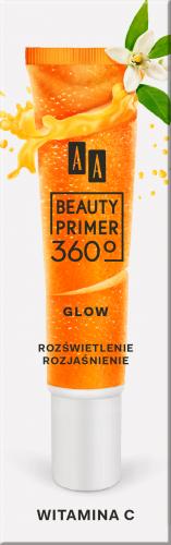 AA Beauty Primer 360c rozświetlająca baza pod makijaż z witaminą C