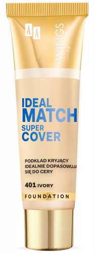 WINGS OF COLOR PODKŁAD IDEAL MATCH SUPER COVER  401 30ML