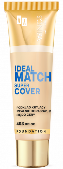 WINGS OF COLOR PODKŁAD IDEAL MATCH SUPER COVER 403 30ML