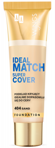 WINGS OF COLOR PODKŁAD IDEAL MATCH SUPER COVER 404 30ML
