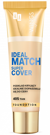 WINGS OF COLOR PODKŁAD IDEAL MATCH SUPER COVER 405 30ML