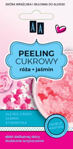 AA SUGAR SCRAB peeling cukrowy glicerynowy Róża 8 ml