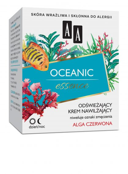AA Oceanic Essence – Oceaniczny krem odświeżająco-nawilżający dzień/noc 50 ml