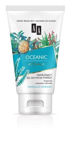 AA Oceanic Essence – Oceaniczny żel nawilżający do mycia twarzy 150 ml