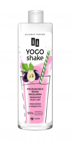 AA YOGO SHAKE Pielęgnująca woda micelarna, demakijaż oczu i ust