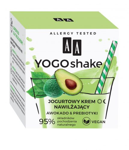AA YOGO SHAKE Jogurtowy krem nawilżający