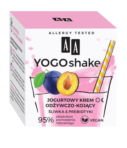 AA YOGO SHAKE Jogurtowy krem odżywczo-kojący