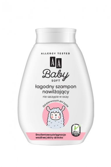AA Baby Soft Łagodny szampon nawilżający 250ml
