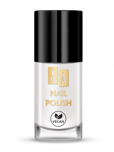 AA NAIL POLISH Lakier Do Paznokci 01 White Bean, 8 ml