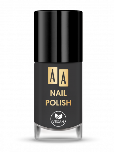 AA NAIL POLISH Lakier Do Paznokci 07 Black Pepper, 8ml