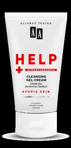 Krem-żel do mycia twarzy bezzapachowy